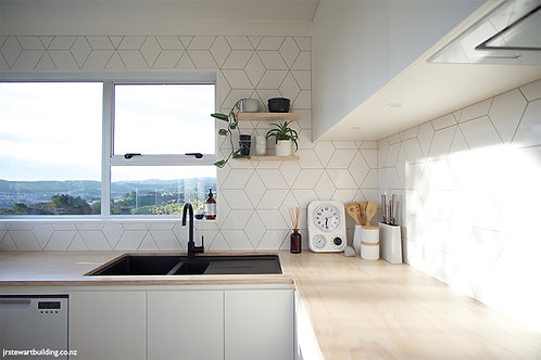 Rhombus White Gloss 15.2x26.3