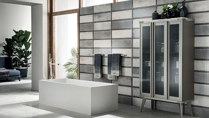 DSL016_bathroom__Industrial Steel Glass