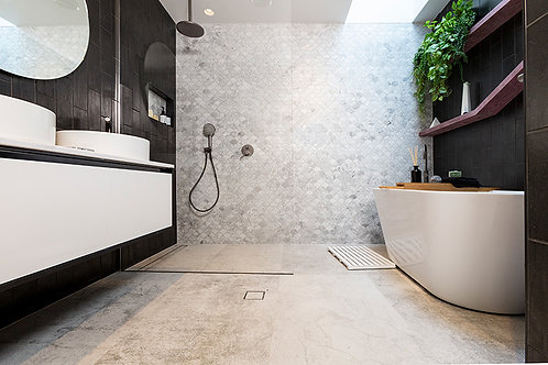 Diesel Concrete White 60x120