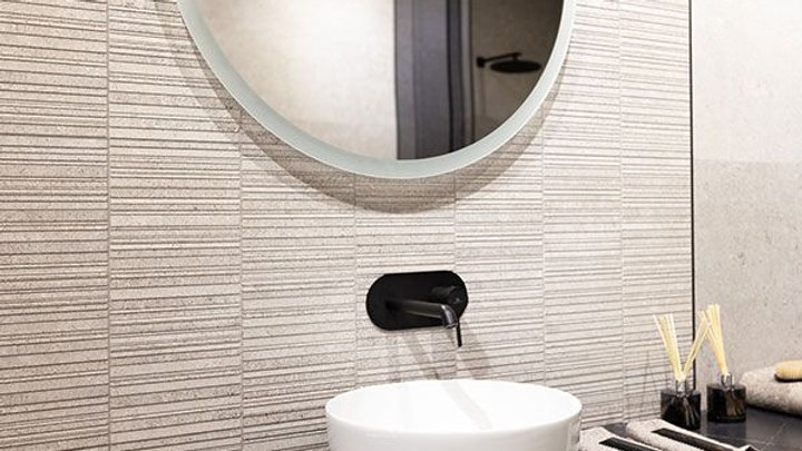 Porcelanosa Stripe Berna Acero 450x1200
