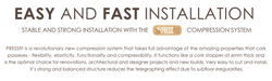 Fast and easy installation