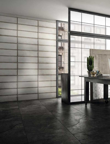 DSL017 - INDUSTRIAL WHITE GLASS 20X60
