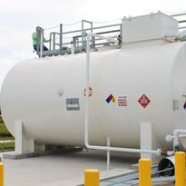 Bandes Construction tank installation