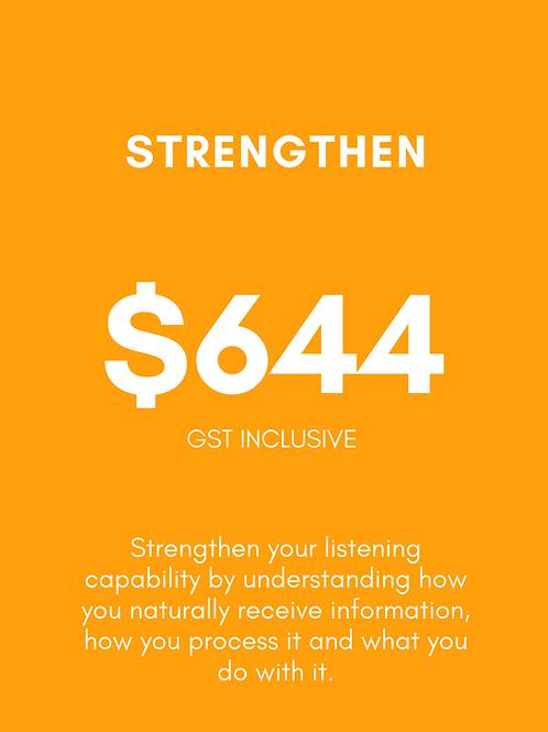 Strengthen Listening Package