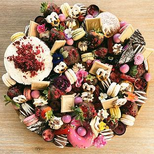 Mini sweet grazing platter