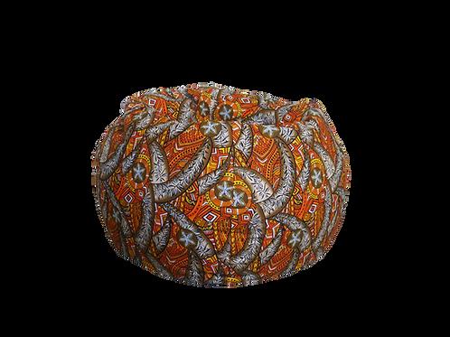 Bean Bag Tropical Orange