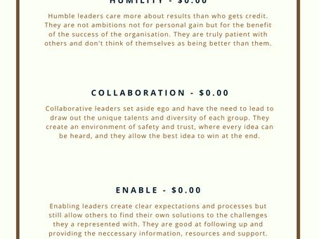 Leadership Menu