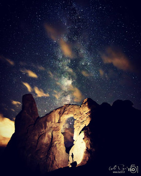 Milkyway through Turret Arch