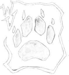 Wolven Visions Logo 2019 Binary - White.