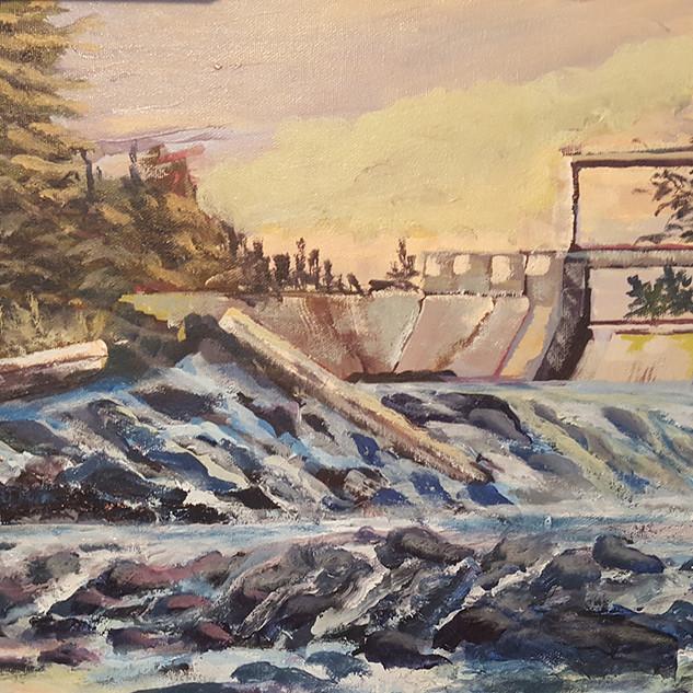 Tea Lake Dam