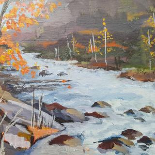 Oxtongue River Rocks