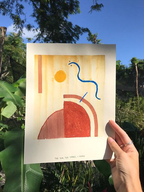The Sun, The Snake, + Home
