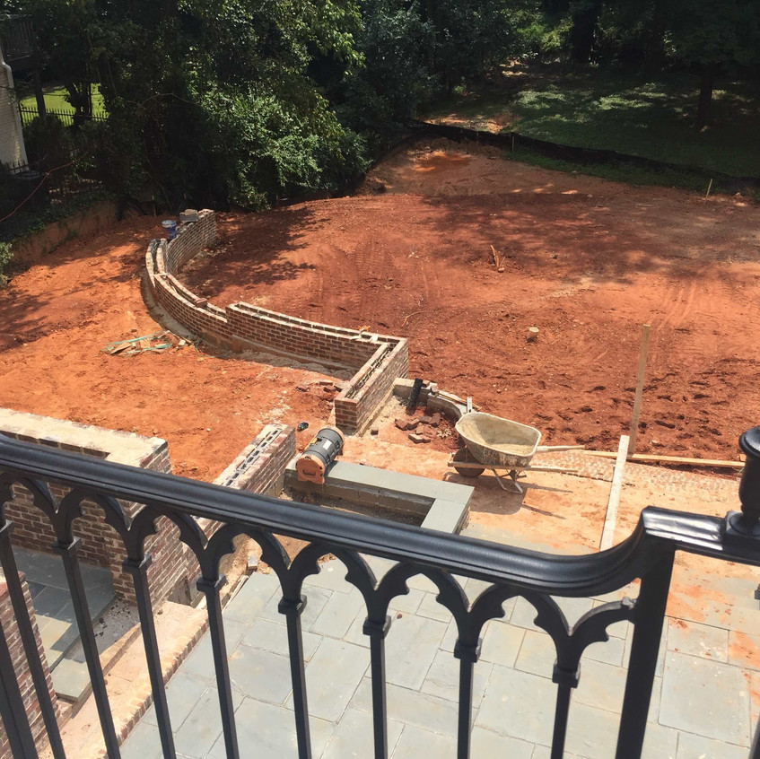 Left Rear Yard View From Above UC