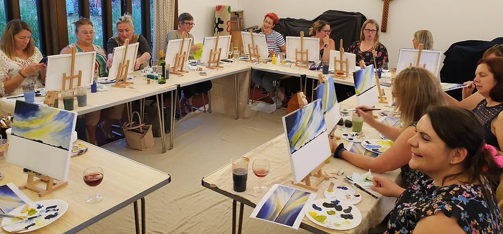 paint party painting and wine art parties near me art sip chelmsford essex wine painting essex art parties essex paint and sip paint party essex paint and drink