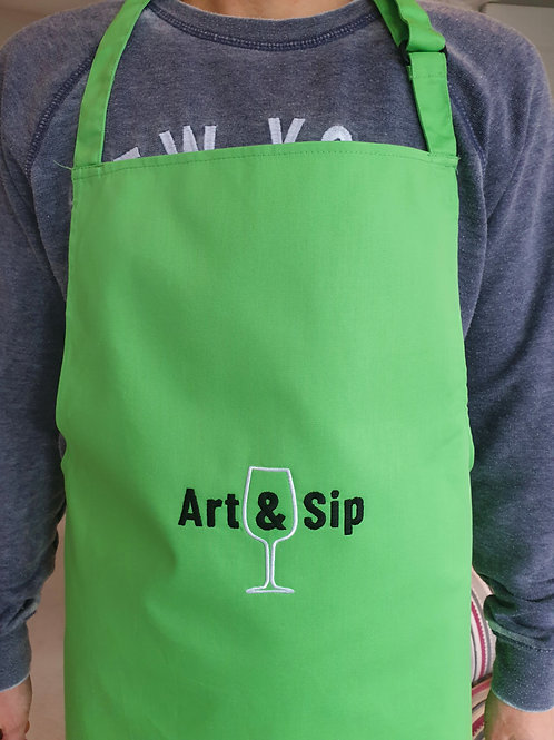Art & Sip Unisex Apron