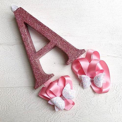 Glitter Bow Holders