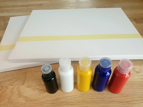 Paint and Canvas Package