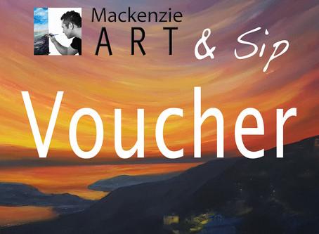 Art & Sip voucher GIVEAWAY!