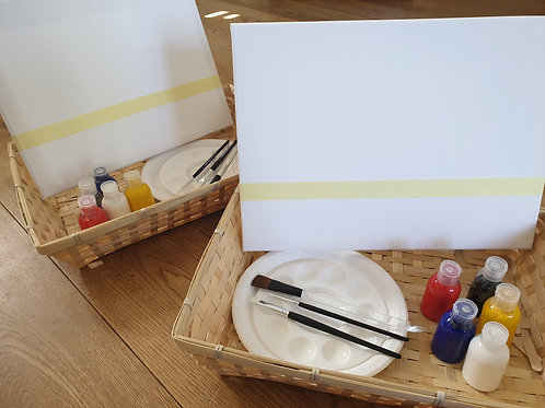 Full Art Package - All you need to take part in the online art sessions