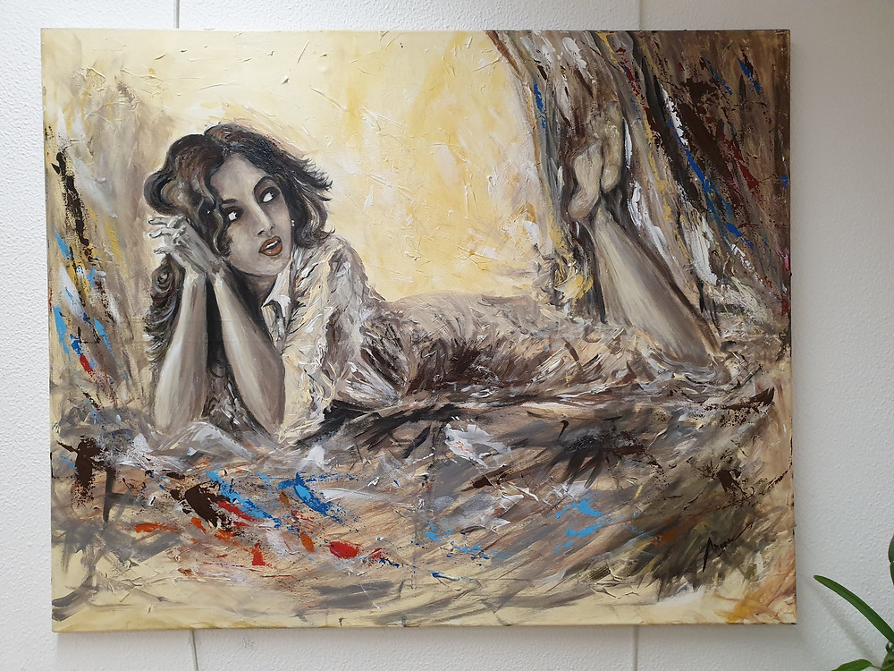 Figure, reclining, art, art and sip, paint and sip, artist