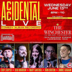 Accidental Comedy Live Album Recording