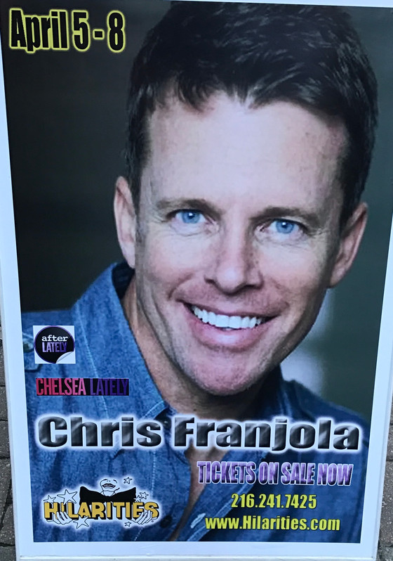 Chris Franjola at Hilarities  4/7/17
