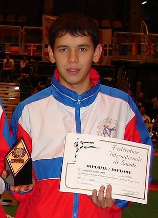 Константин Имайкин сават бокс
