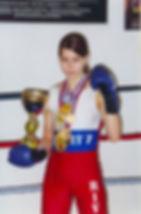 Елена Воробьева французский бокс сават