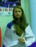 Анастасия Еремина французский бокс сават
