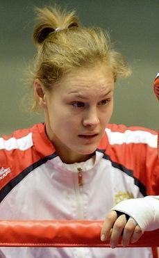 Анна Волобуева сават бокс