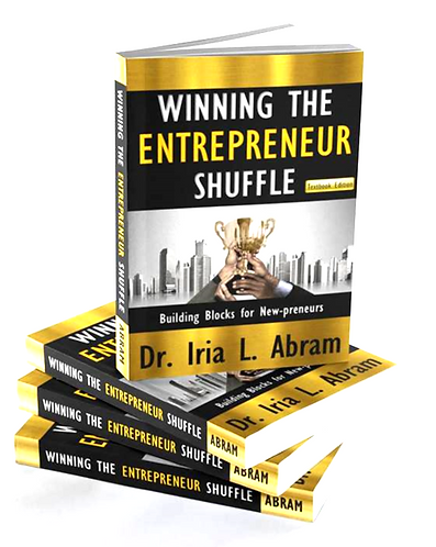 WINNING THE ENTREPRENEUR SHUFFLE -Autographed Copy