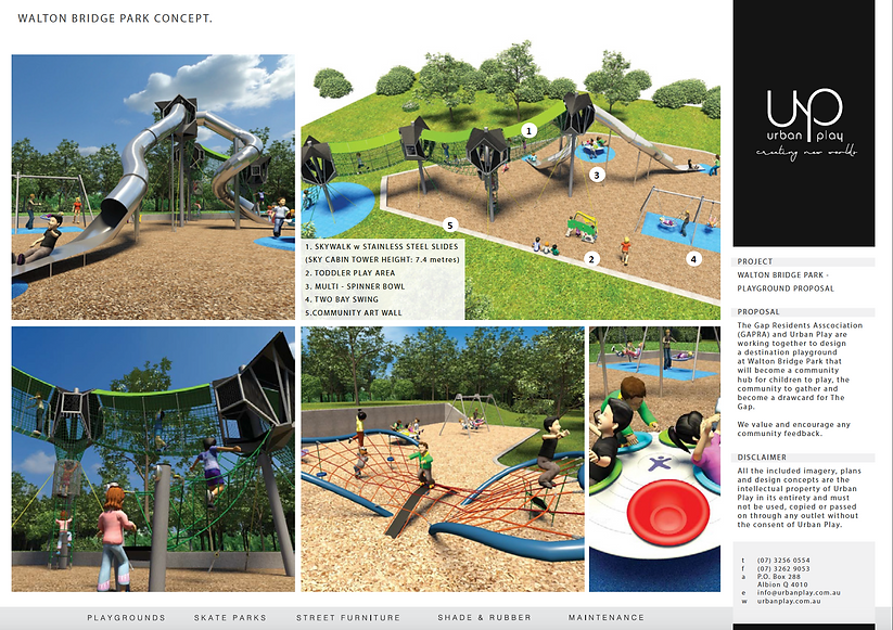 gapra | Walton Bridge Park - Our Big Project