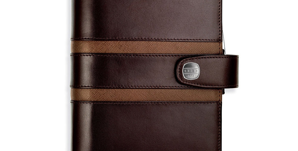 Cross Leather 1846 Chocalate Agenda With Pen