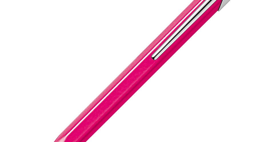 Caran d'Ache 849 Fluo Line Pink Ball Pen