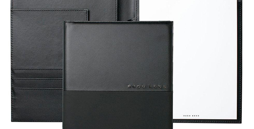 Hugo Boss Folder Caption Contrast Black A5