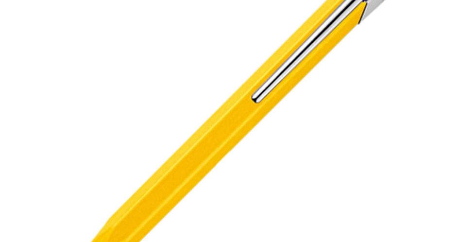 Caran d'Ache 849 Classic Line Yellow Ball Pen