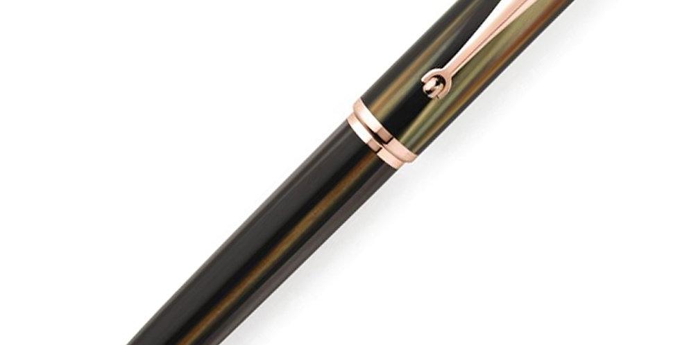 Montegrappa Ducale Brown RG Ball Pen