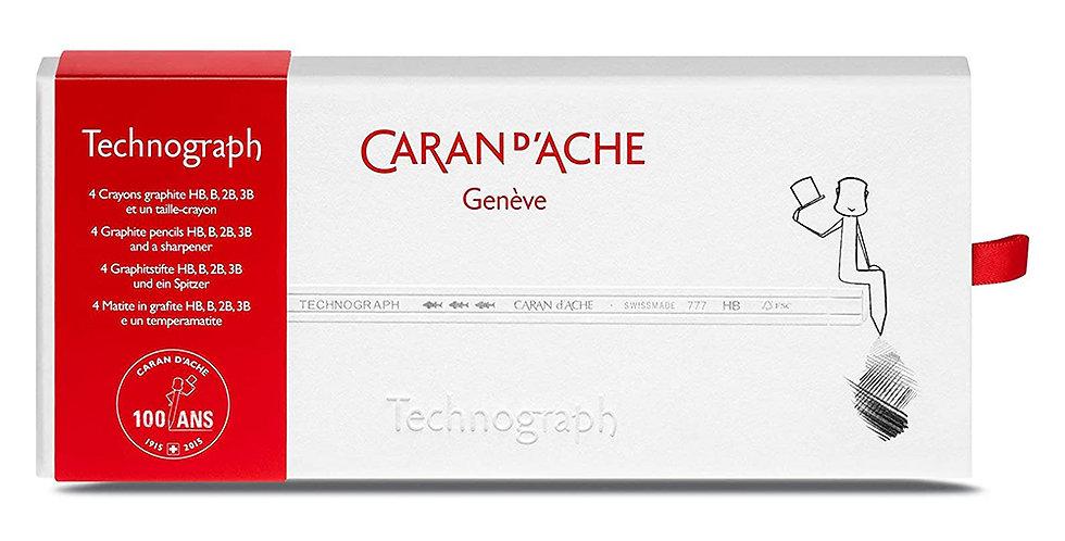 Caran d'Ache Technograph 100 Yrs Pencils