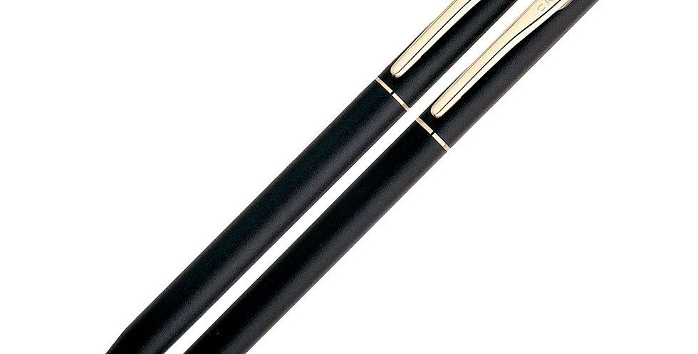 Cross Classic Century Matte Black GT Ball Pen+MP Set