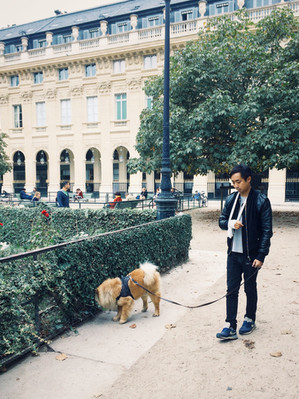 2 Октября, Парижская Неделя Моды в саду Пале-Рояль