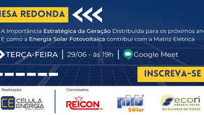 Mesa Redonda   Estratégica da Geração Distribuída – Energia Solar FV