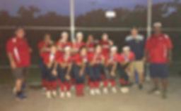 Softball team champions photo