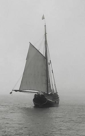 Segelschiff auf dem Meer, 1