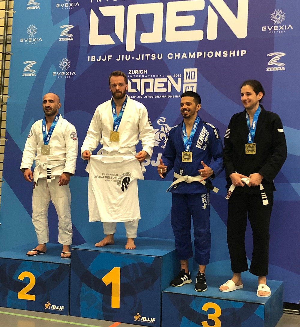 ANDREAS THOMANN - WINNING THE GOLD MEDAL AT THE IBJJF ZURICH OPEN 2019