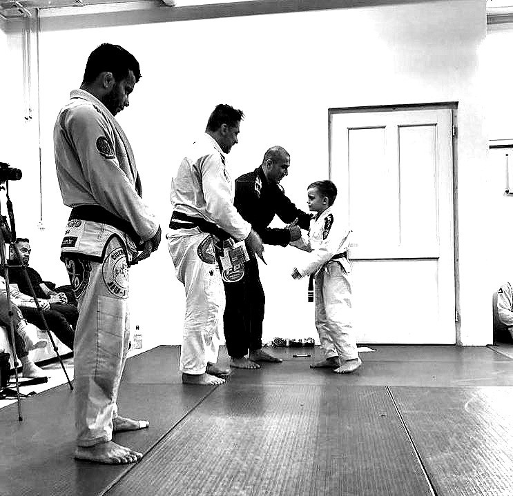 PROFESSOR TIAGO BARROS - SPECIAL GUETS AT THE PARA BELLUM JIU JITSU ACADEMY BELT PROMOTION