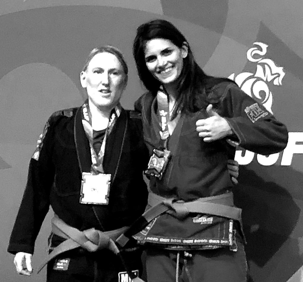 LAUREN BROWN - THE FEMALE PURPLE BELT - MASTER 2 - IBJJF EUROPEAN CHAMPION 2019