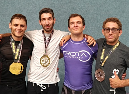 The PARA BELLUM JIU JITSU / GFTEAM ZURICH medal chaser won some medals at the COPA WURZBURG 2018