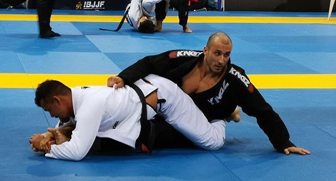 UROS DOMANOVIC FIGHTING AT THE IBJJF EUROPEAN CHAMPIONSHIPS 2019