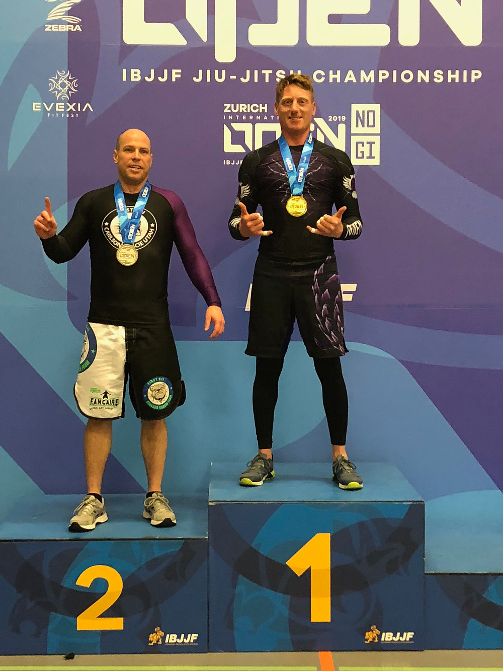 LUKE RENNIE - WINNING SEVERAL GOLD MEDALS AT THE IBJJF ZURICH OPEN 2019