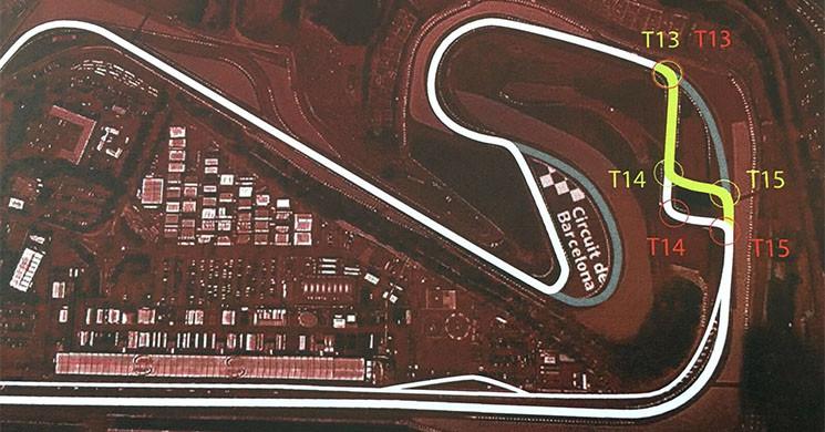 Los cambios realizados al trazado catalán no gustaron a los pilotos